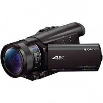 Câmara de vídeo 4K AX100E FDR-AX100E