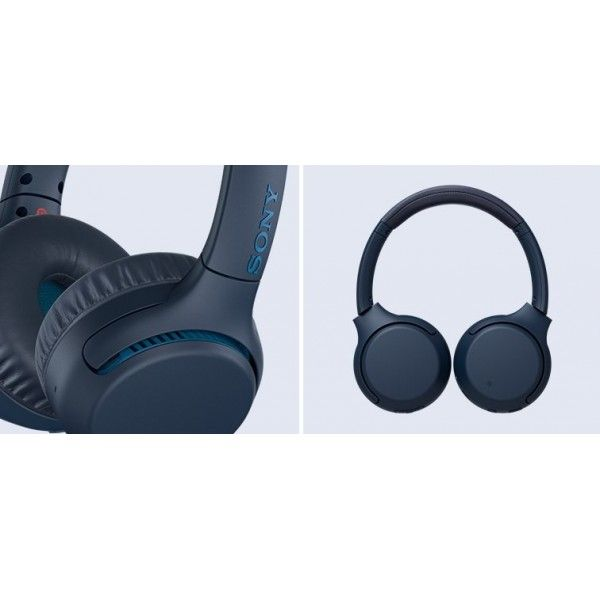 Auscultadores s/ fios Sony cor Azul - WH-XB700L