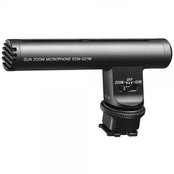 Microfone com zoom GZ1M para a Handycam - ECM-GZ1M