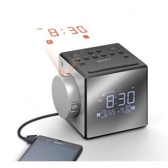 Rádio relógio c/ projetor Sony - ICF-C1PJ