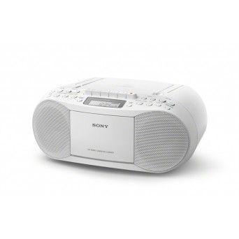 Leitor de CD e cassete c/ rádio - CFD-S70W