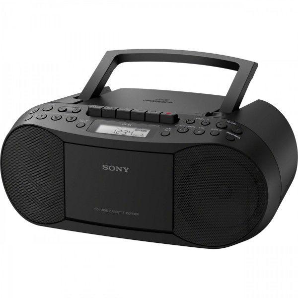 Leitor de CD e cassete c/ rádio - CFD-S70B