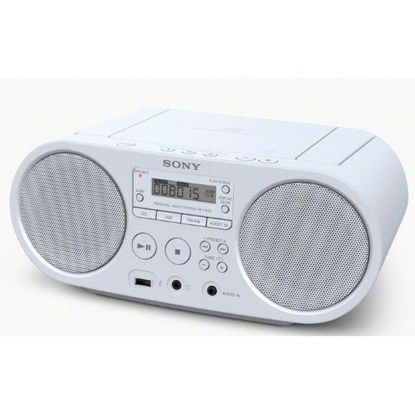 Sistema de áudio com leitor de CD e rádio - ZS-PS50W