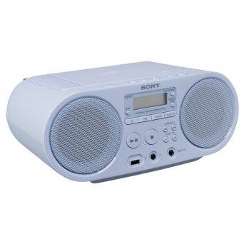 Sistema de áudio com leitor de CD e rádio -ZS-PS50L