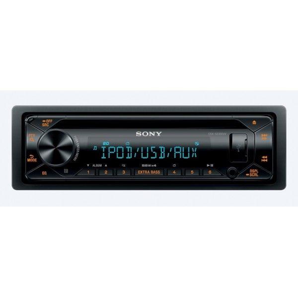 Recetor de CD com USB Sony - CDX-G3300UV