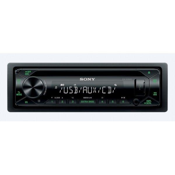 Recetor de CD com USB Sony - CDX-G1302U