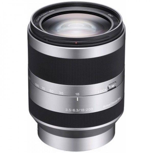 SEL18200Lente teleobjectiva com zoom F3.5-6.3 E18-200 mm